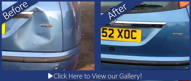 Ford Fiesta Mobile Dent Repair in Ellesmere Port Wirral