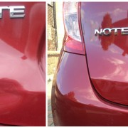 Dent Repair before and after in Crewe