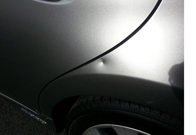 Lexus dent repair on site
