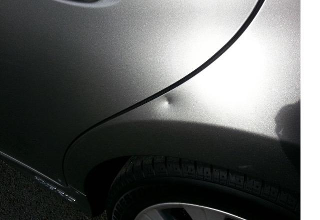Lexus dent repair on site