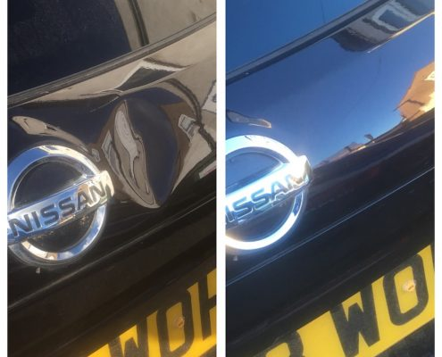 nissan dent repair Chester hospital