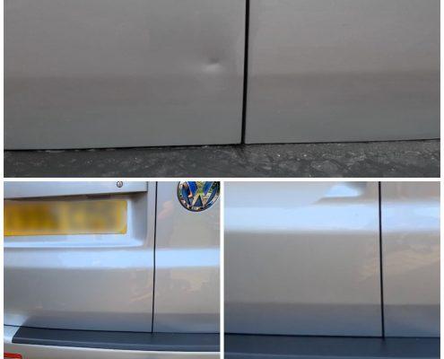 VW transporter mobile dent repair