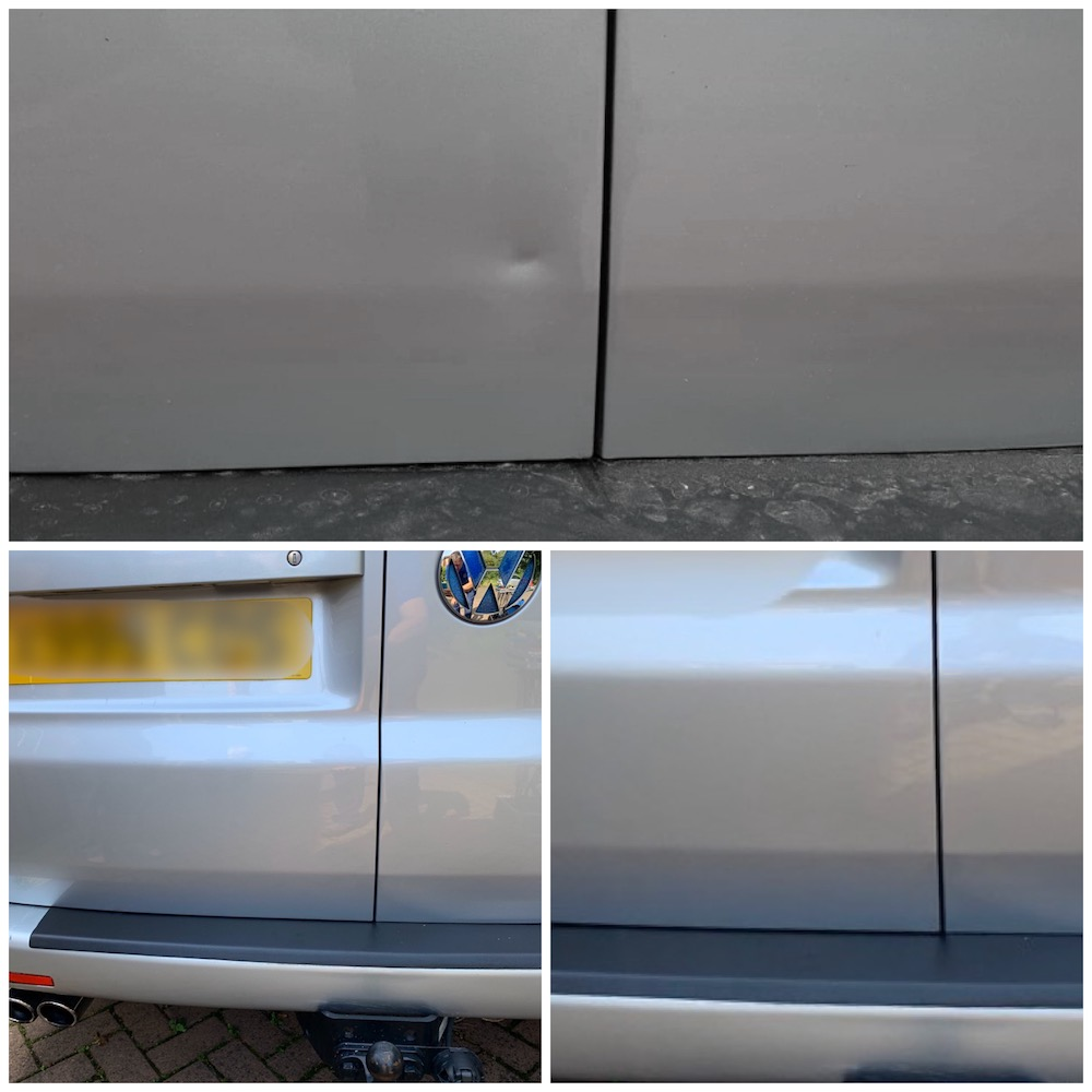 VW transporter mobile dent repair