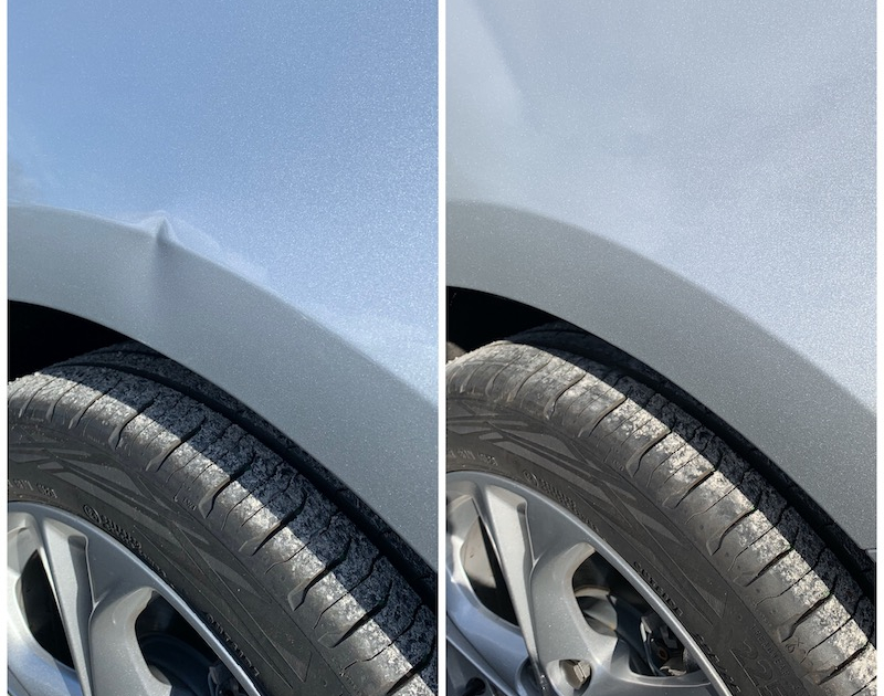 Dent Removal | Paintless Dent Removal